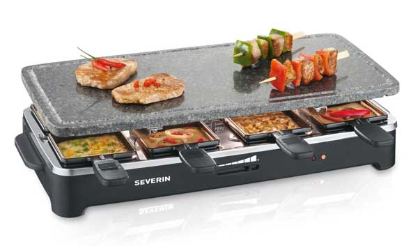 severin 2343 raclette grill
